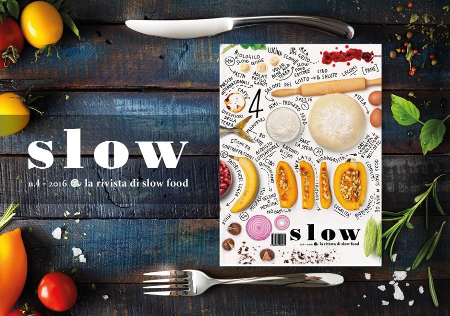 L'ultimo numero del 2016 della rivista Slow