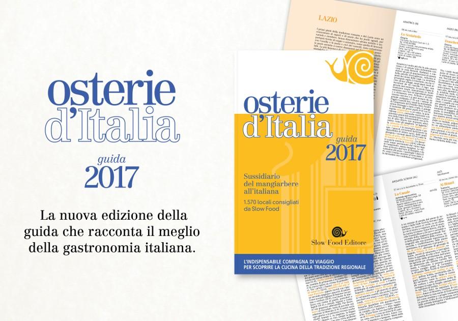 Osterie d'Italia 2017