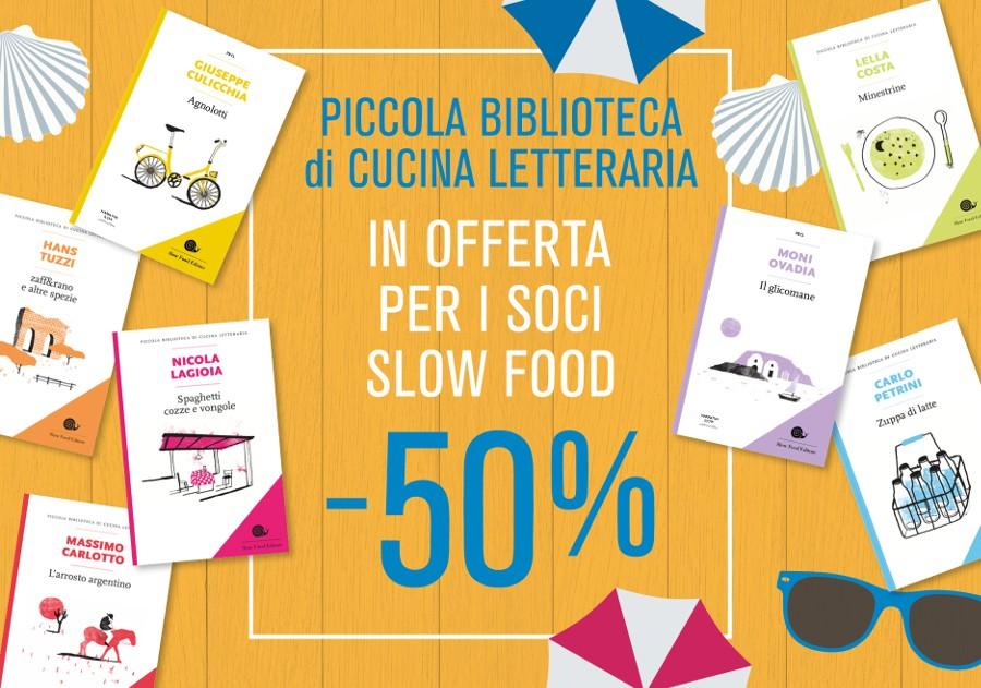 Piccola Biblioteca di Cucina Letteraria -50%