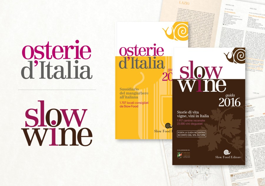 Offerta speciale: Osterie d'Italia 2016 + Slow Wine 2016