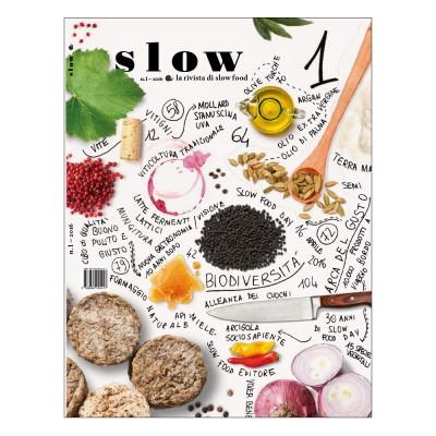 Slow, la rivista di Slow Food n. 1/2016