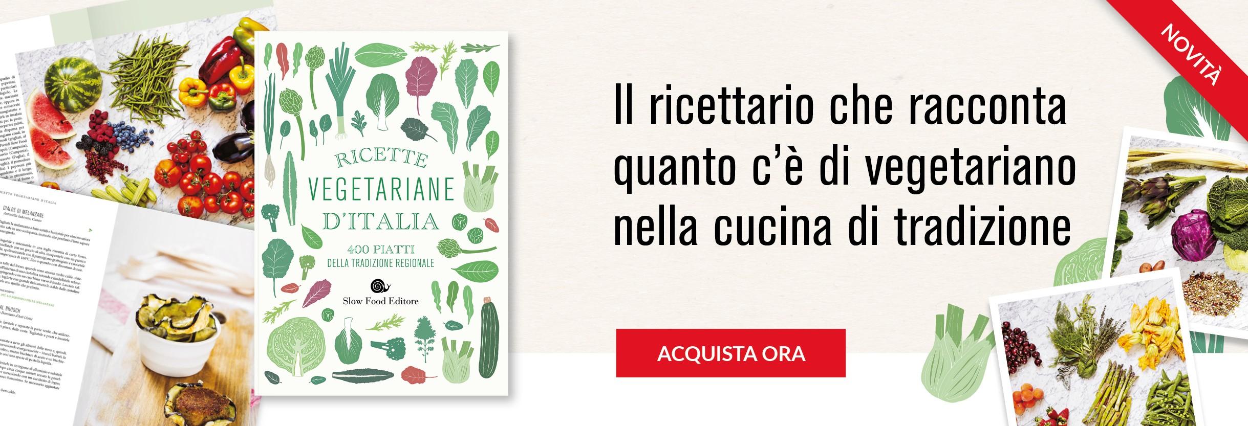 Ricette vegetariane d'Italia - ed. ec.