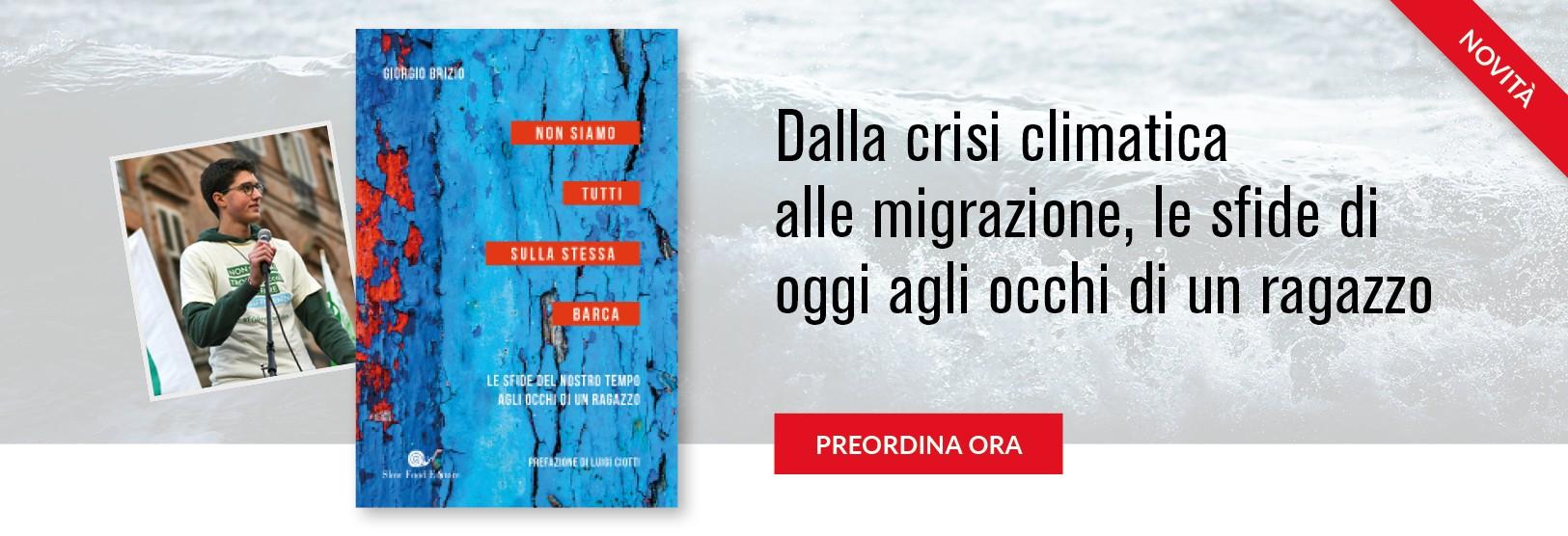 Il primo libro di Giorgio Brizio, attivista 19enne
